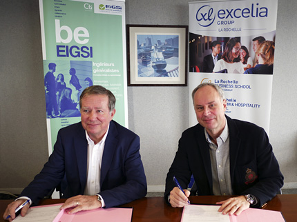 New Partnership With Eigsi General Engineering School Of La