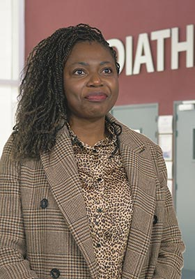 Sara Nyobe - Researcher and Lecturer