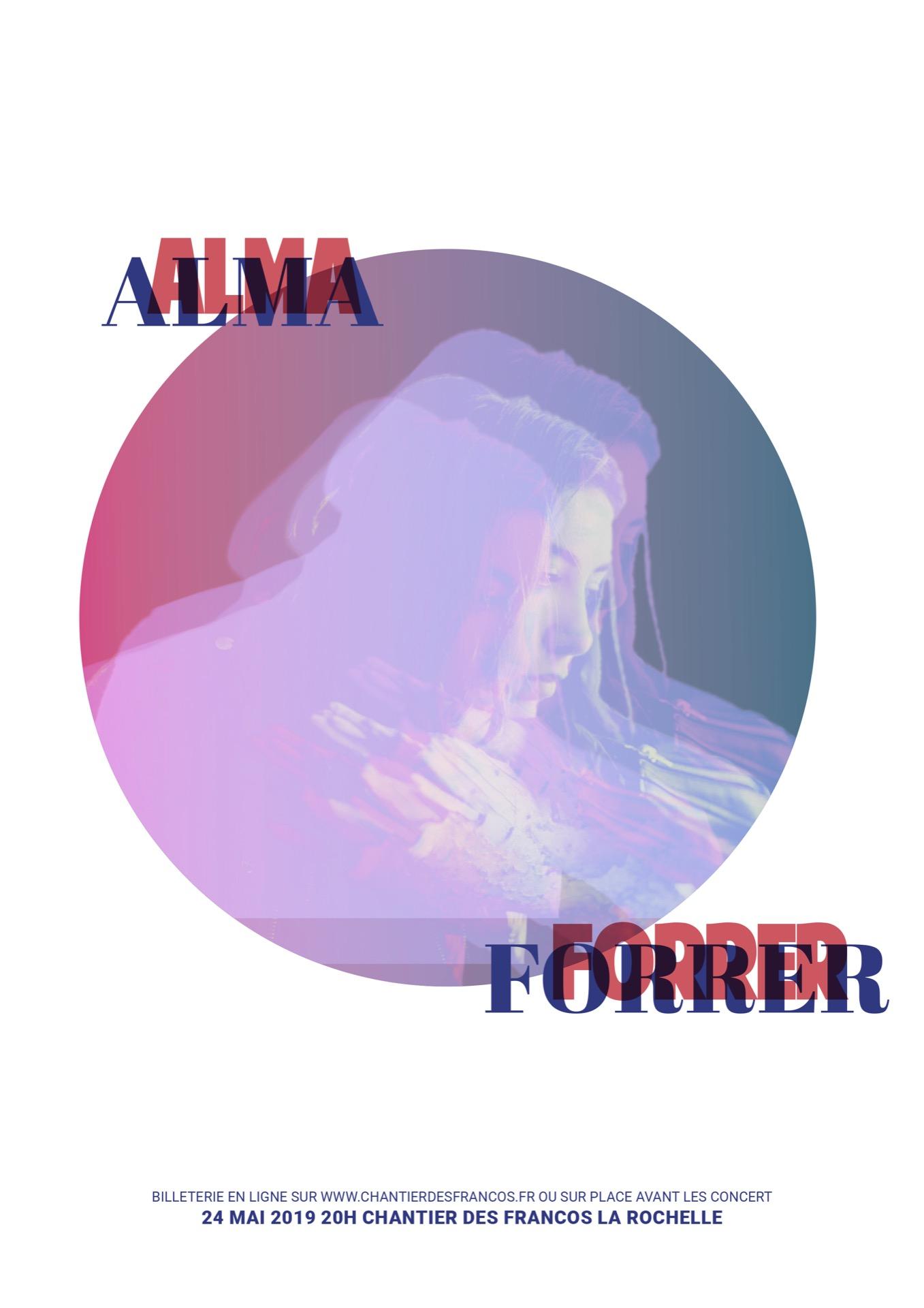 Alma Forrer par Léa Laurent-Cutayar
