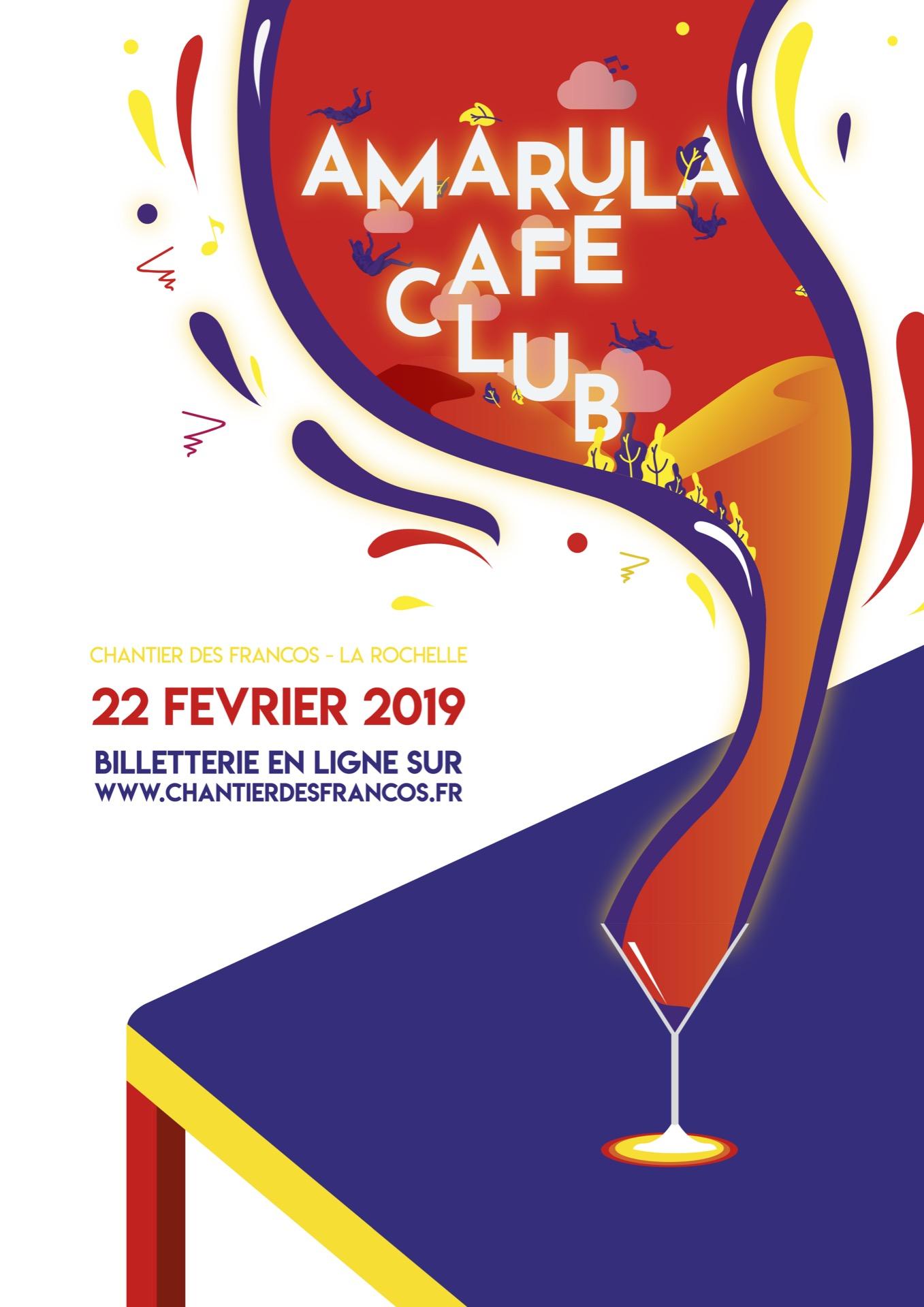 Amarula Café Club par Thierry Paré
